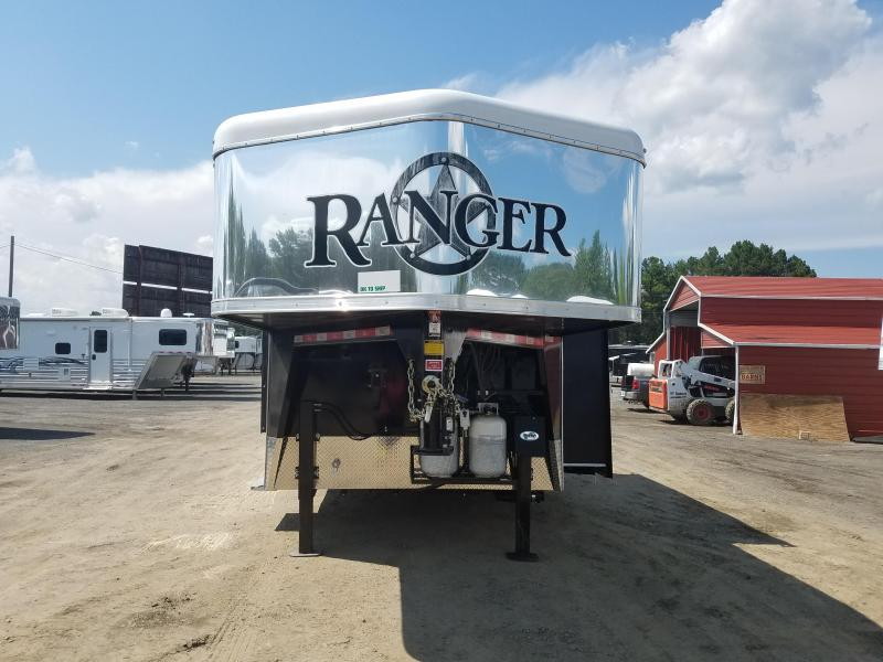 2018 Bison Trailers 8419 RANGER Horse Trailer