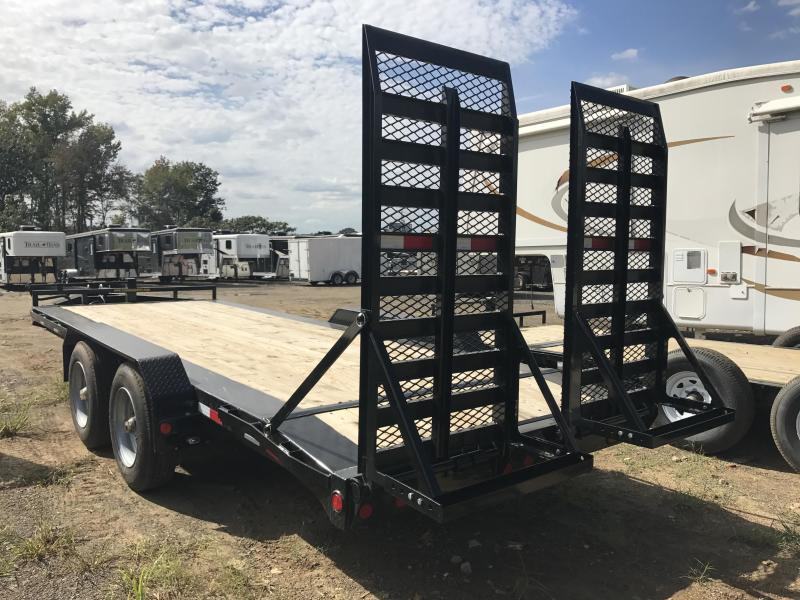83x20 PJ Pro Beam Equipment Trailer-25000lb GVWR