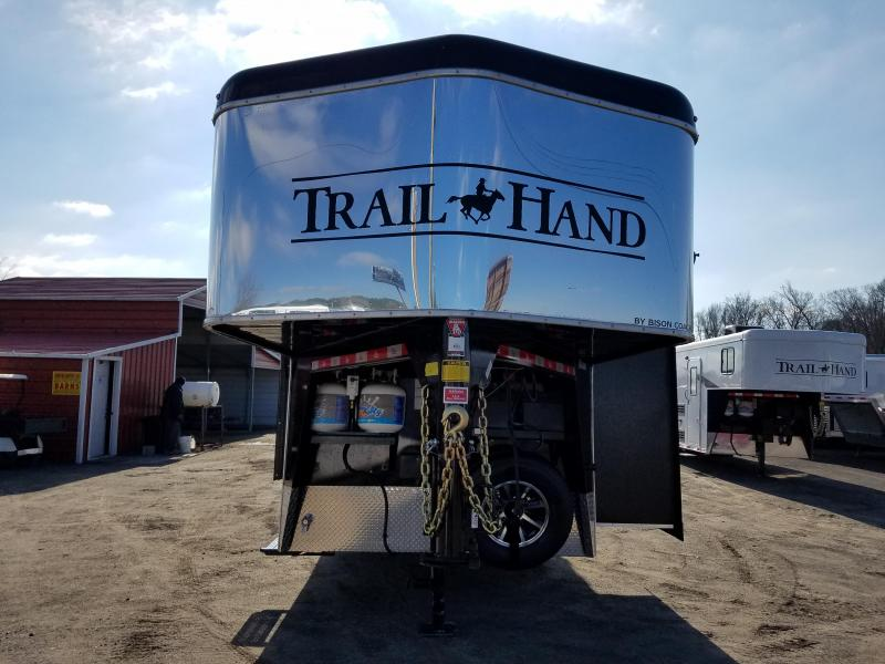 2019 Bison Trailers 7209 TRAIL HAND Horse Trailer