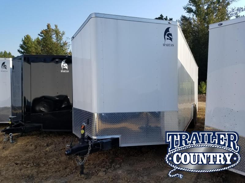 2018 Spartan 8.5X24XXL Enclosed Cargo Trailer