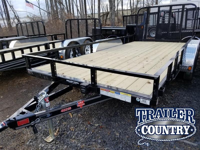 2018 PJ Trailers 83X16 TA Utility Trailer