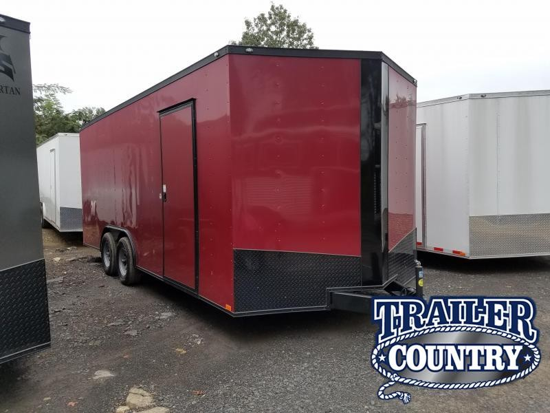 2018 Spartan 8.5X20 Enclosed Cargo Trailer