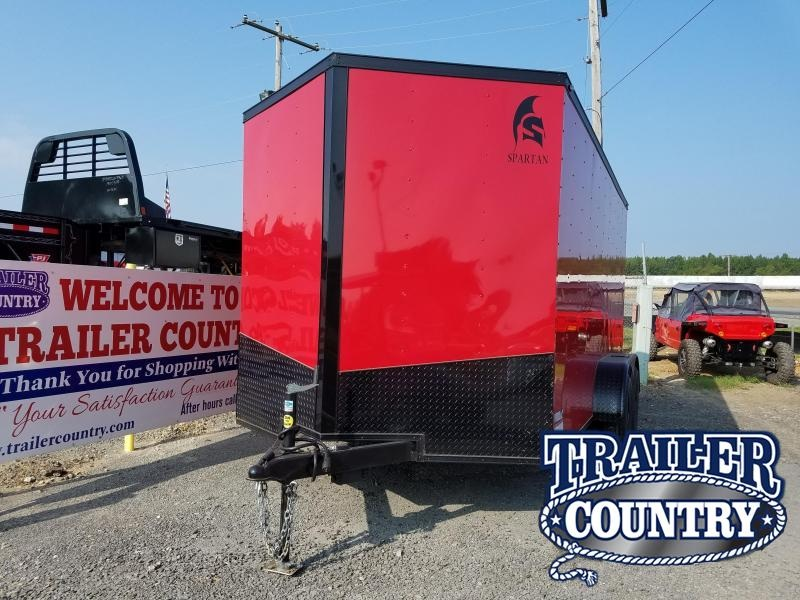 2018 Spartan 7X14 Enclosed Cargo Trailer