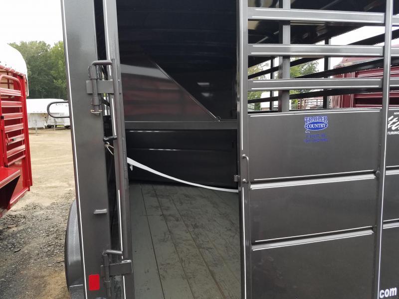 2019 Delta Manufacturing 500ES Horse Trailer