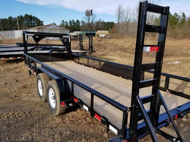 83x20 PJ GN Angle Pipetop-7K Axles Straight Deck Fold Up Ramps