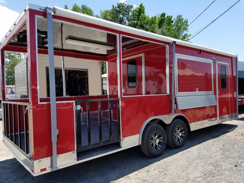 2018 Spartan 8.5X24 BBQ Vending / Concession Trailer