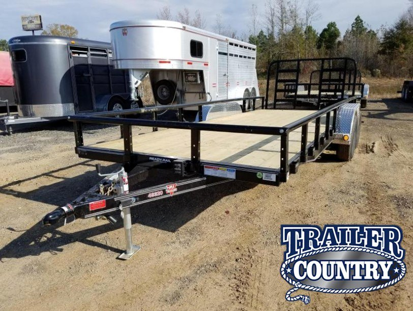 Dovetail Utility Trailer 7 X 20: Used 2018 PJ Cargo & Utility Trailer In Cabot, AR