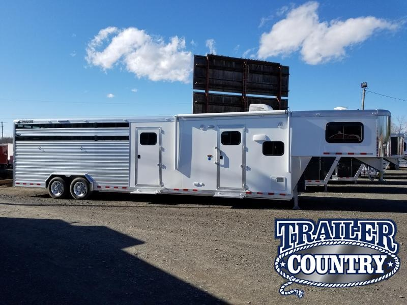 2018 Cimarron Trailers Cimarron Lonestar GN Living Quarters Livestock Trailer in Ashburn, VA