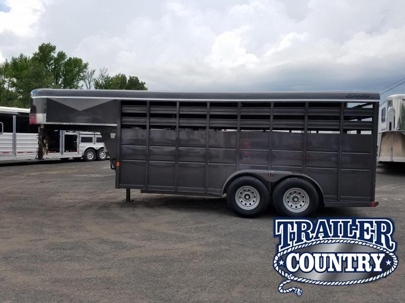 2018 Delta Manufacturing 500 SERIES GN STOCK Trailer