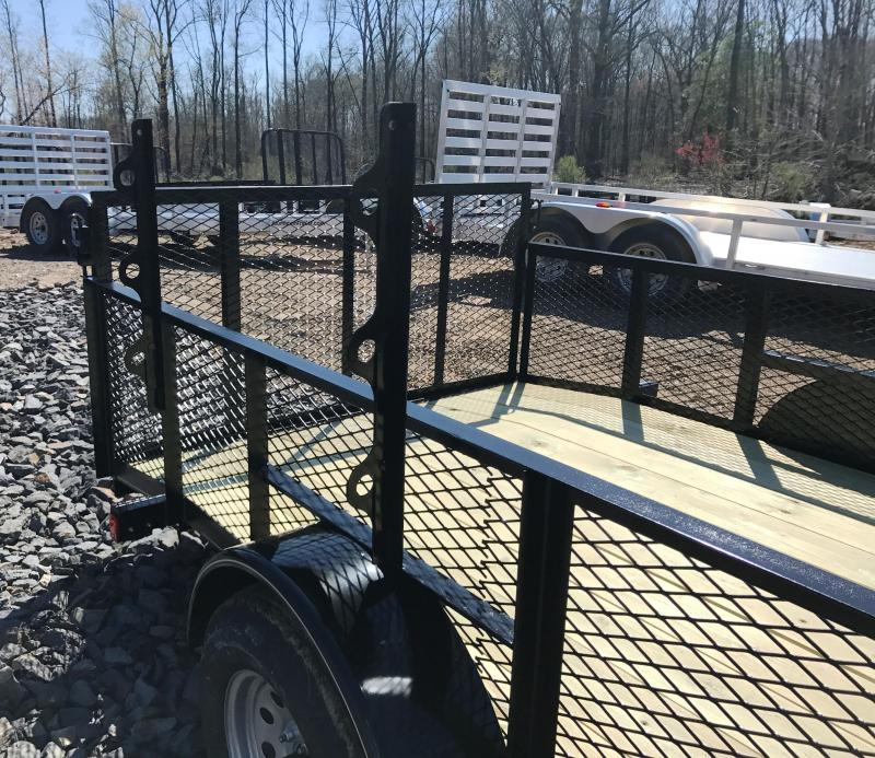 77x12 Landscape Utility Trailer-2' Sides-Rear Gate