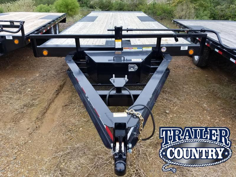 2018 PJ Trailers 96X22 DECKOVER Equipment Trailer