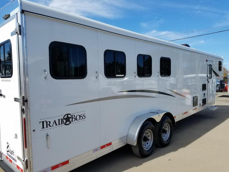 2019 Bison Trailers 7409 TRAIL BOSS Horse Trailer