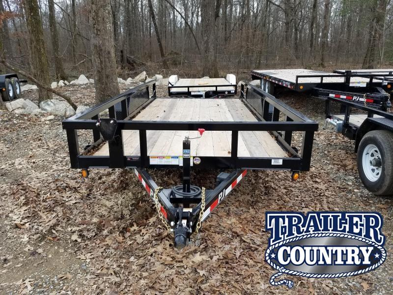 2019 PJ Trailers 83X16 Equipment Trailer in Prattsville, AR