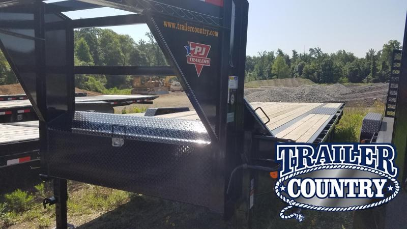 2020 PJ Trailers 24 FT LOW-PRO Flatbed Trailer