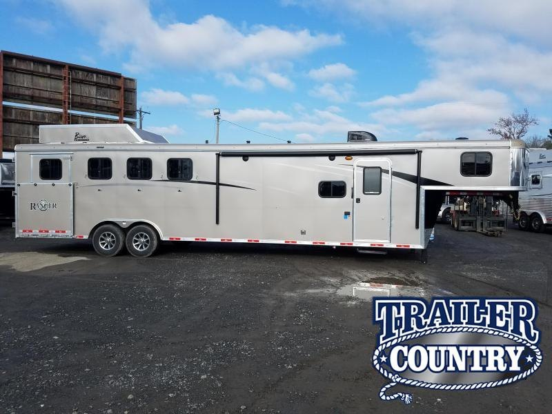 2019 Bison Trailers 8411 RANGER Horse Trailer
