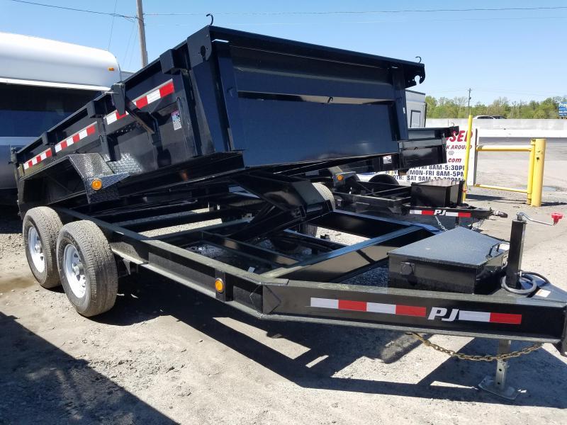 2020 PJ Trailers 83X12 LOW PRO Dump Trailer