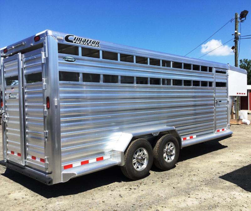 2017 Cimarron Trailers 2017 CIMARRON LONESTAR 20STK Livestock Trailer