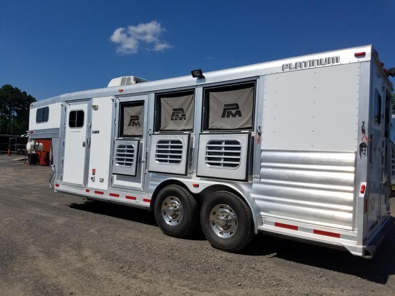 2013 Platinum Coach PLATINUM 3H Horse Trailer