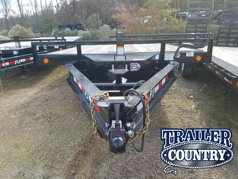 2018 PJ Trailers 96X22 DECKOVER TILT Equipment Trailer in Beirne, AR