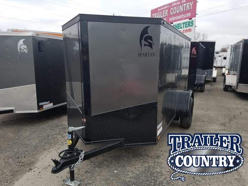 2019 Spartan 5X10 Enclosed Cargo Trailer