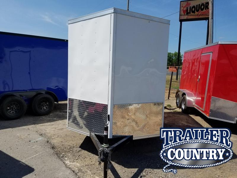 2018 Precision 6X12SA Enclosed Cargo Trailer