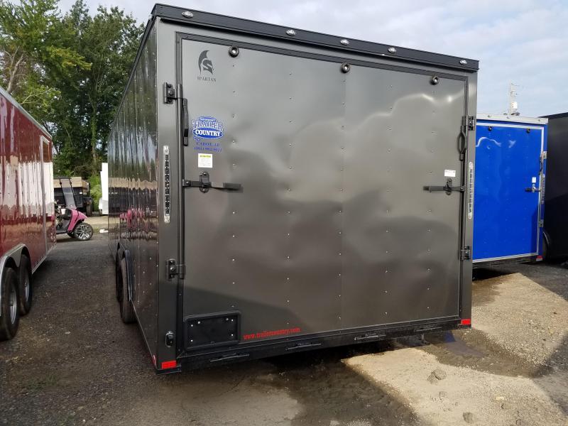 2019 Spartan 8.5X24 TA Enclosed Cargo Trailer