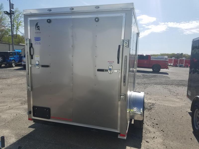 2018 Spartan 6X10 SA Enclosed Cargo Trailer