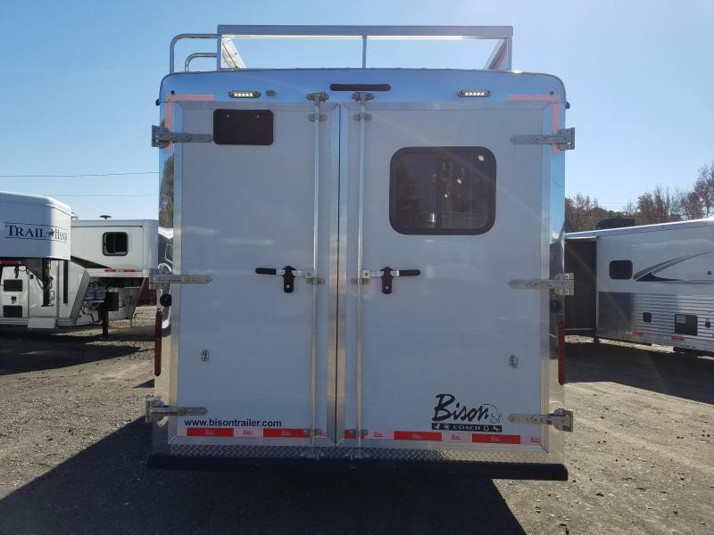 2019 Bison Trailers 8411 RANGER Horse Trailer