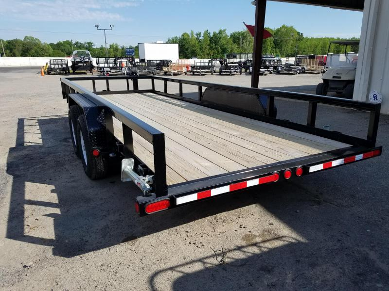 2019 PJ Trailers 20 FT ANGLE PIPETOP Equipment Trailer