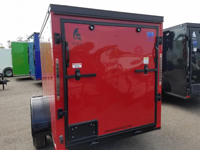 2019 Spartan 5X8SA Enclosed Cargo Trailer