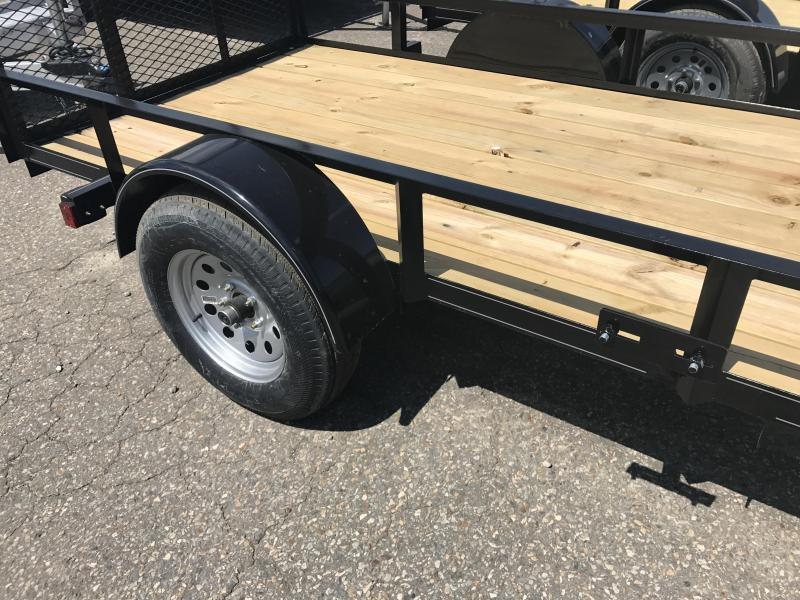 ****CLEARANCE***77x10 Precision Utility Trailer-Rear Gate