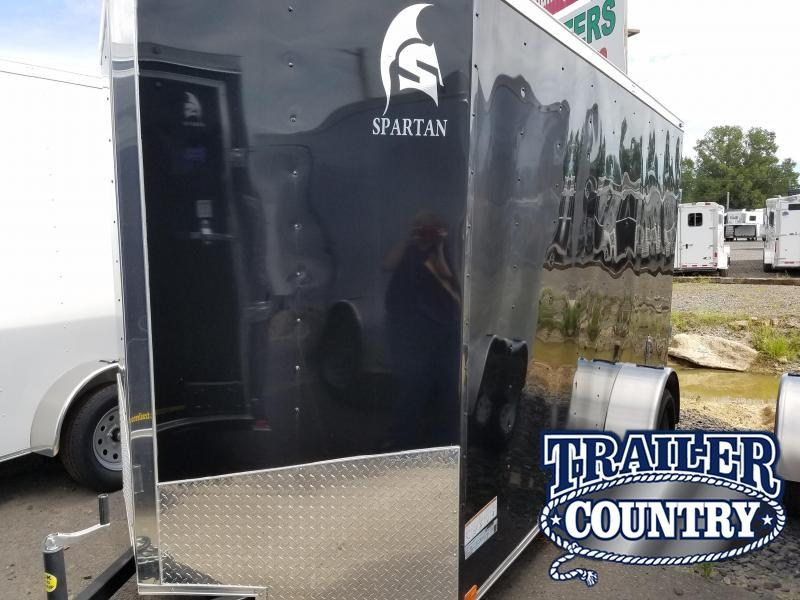 2018 Spartan 6X12SA Enclosed Cargo Trailer