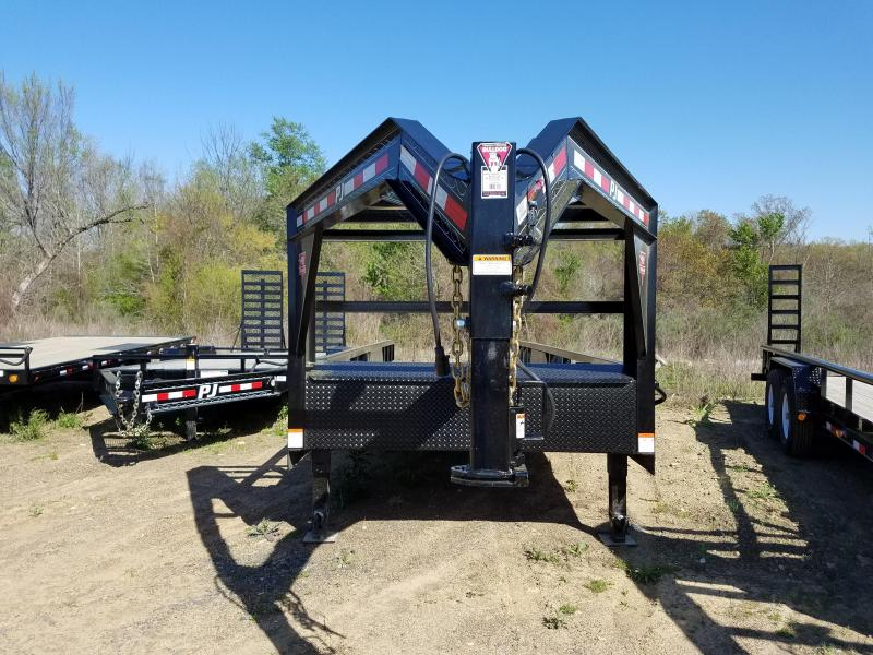 2018 PJ Trailers 24 Angle Pipetop Equipment Trailer