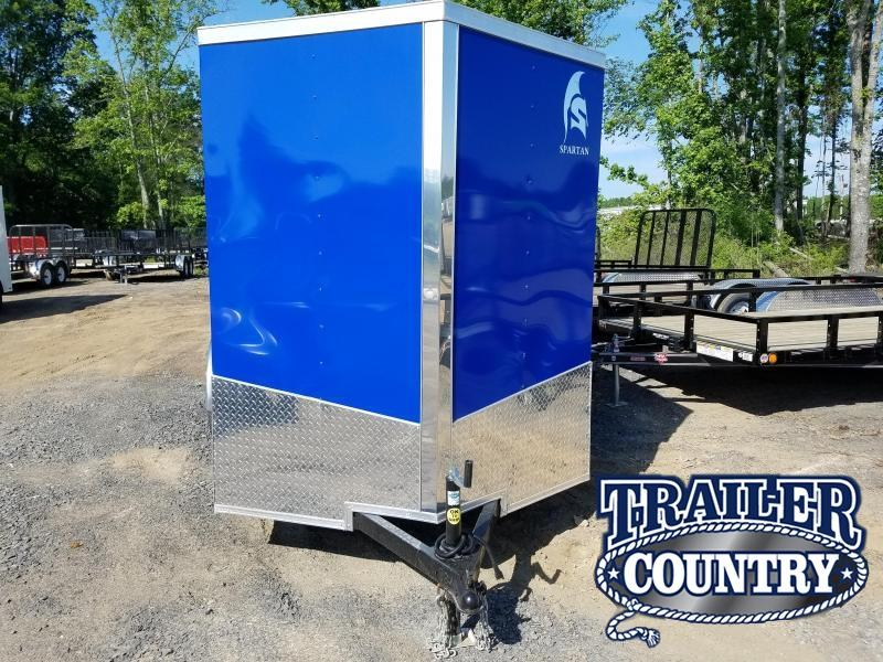 2018 Spartan 9X12SA Enclosed Cargo Trailer