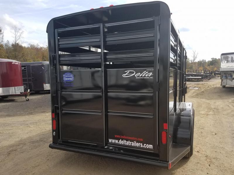 2019 Delta Manufacturing 2H BUMPER Horse Trailer