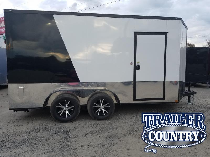 2019 Spartan 7X14 Motorcycle Trailer