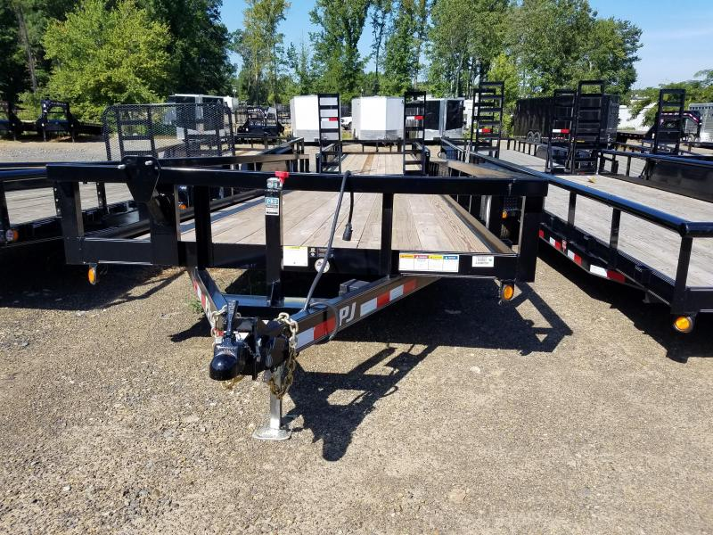 2018 PJ Trailers 83X24TA Equipment Trailer in Itta Bena, MS