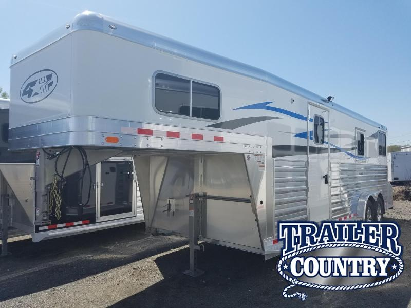 2018 4-Star Trailers 4 STAR 2+1 Horse Trailer