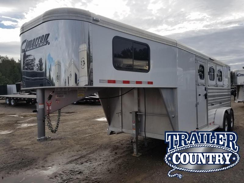 2018 Cimarron Trailers NORSTAR 3 HORSE Trailer in Ashburn, VA