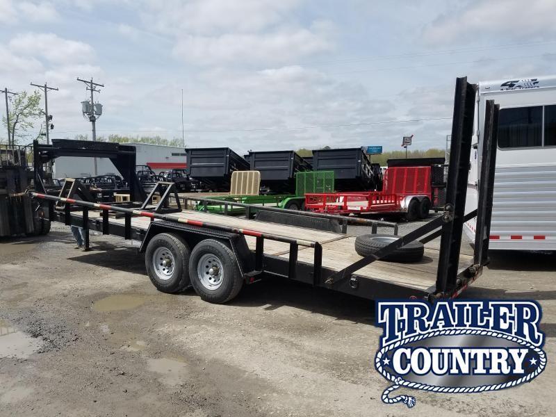 2007 Texas Bragg Trailers 83X24 Equipment Trailer
