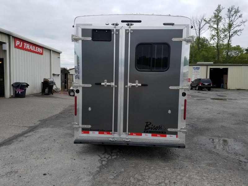 2020 Bison 7311TH Horse Trailer