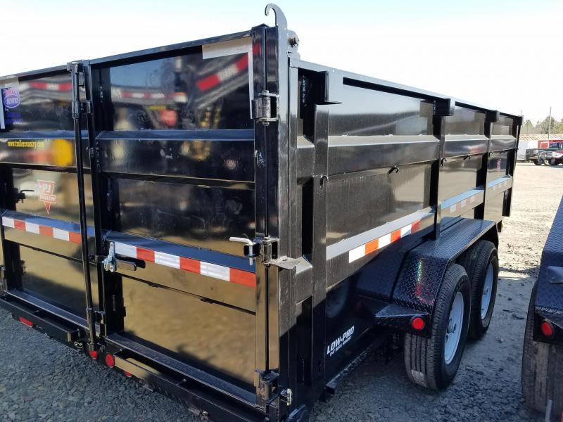 83x16 PJ XL Lo Pro High Side Dump-7K Axles