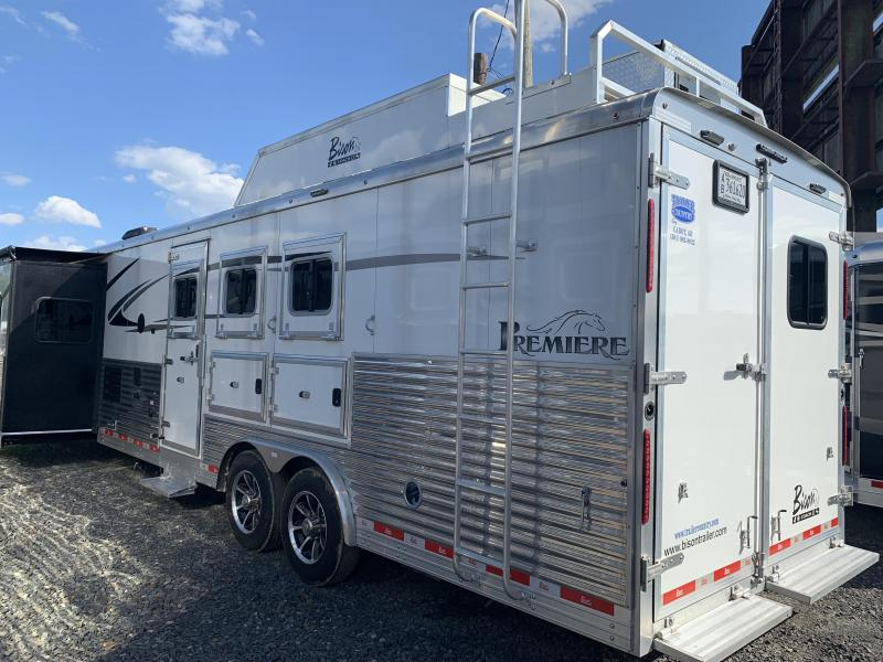 2018 Bison PREMIERE 3 HORSE Horse Trailer