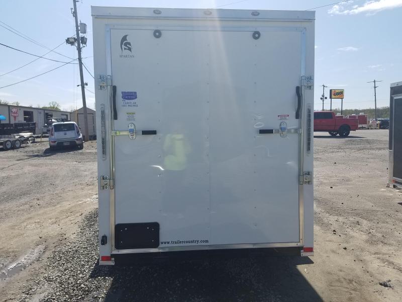 2018 Spartan 6X12 SA Enclosed Cargo Trailer