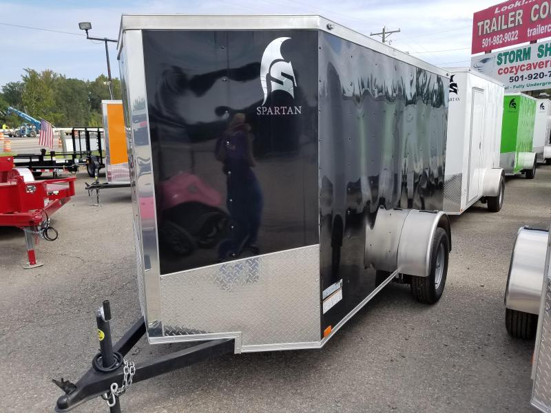 2018 Spartan 5X10SA Enclosed Cargo Trailer