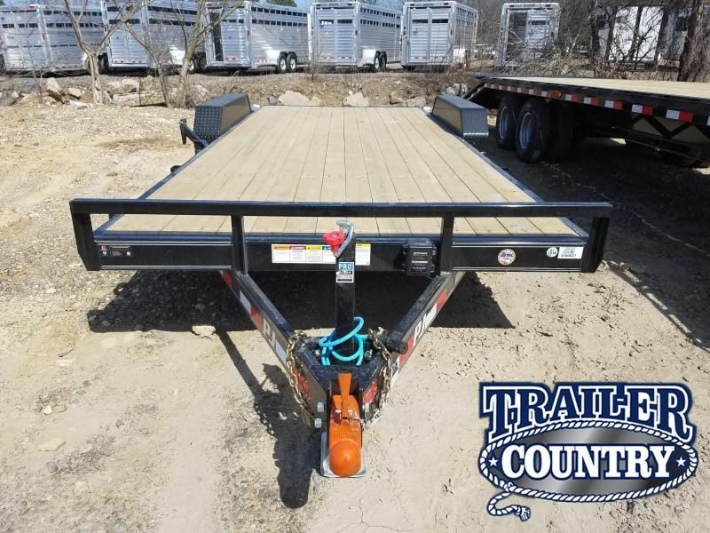 RENTAL  2019 PJ Trailers--RENTAL--- 20 equipment Equipment Trailer in Prattsville, AR