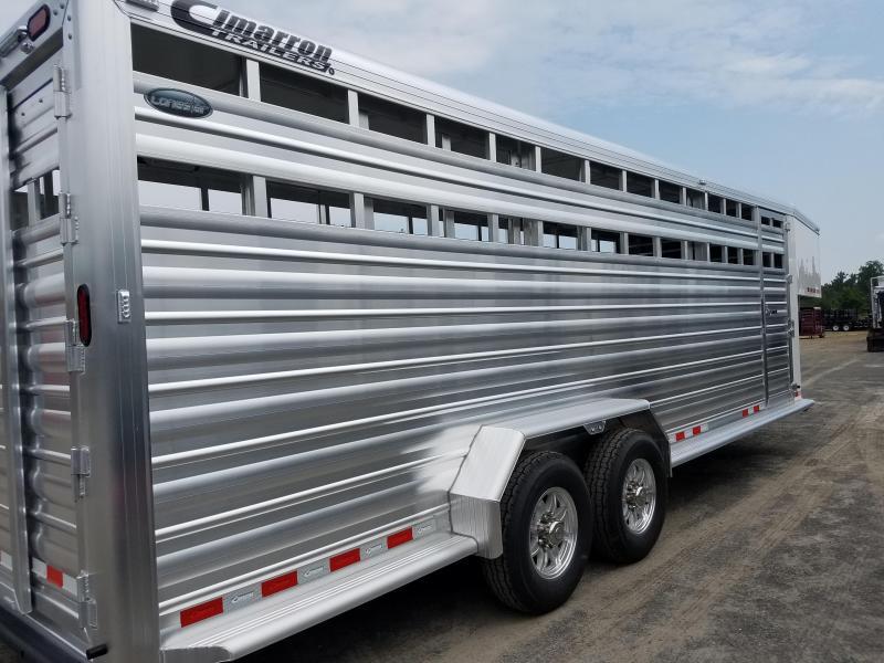 2019 Cimarron Trailers LONESTAR Livestock Trailer