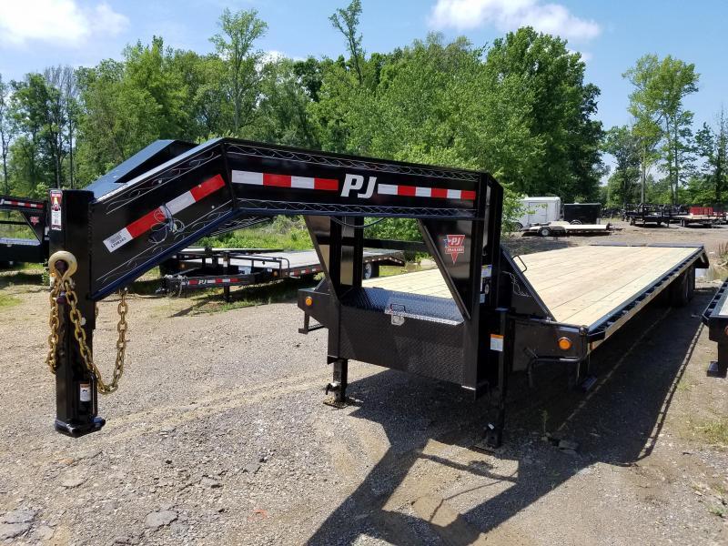 2018 PJ Trailers 102X40 HD GN Flatbed Trailer