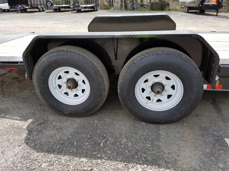 2018 PJ Trailers 81X20 TILT Equipment Trailer