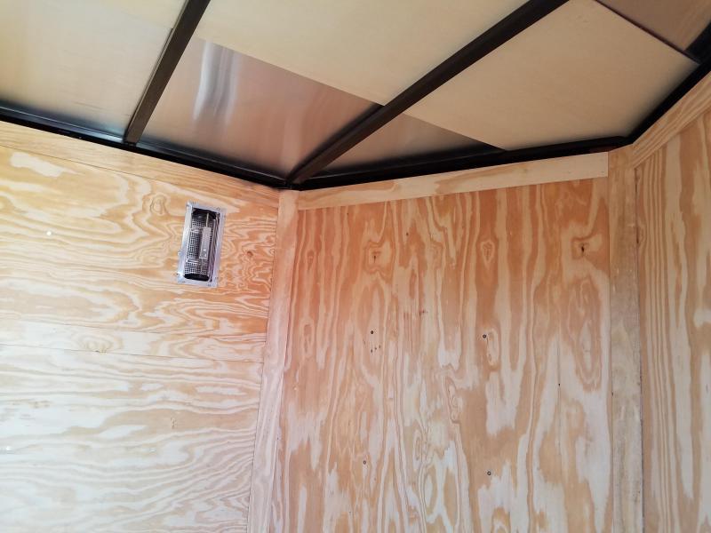 2019 Spartan 7X12 TA Enclosed Cargo Trailer